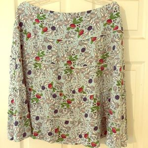Down East Floral Skirt
